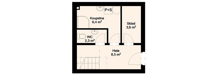 Rezidence Candát - 1.NP : Rezidence Rybáře, Hodonín