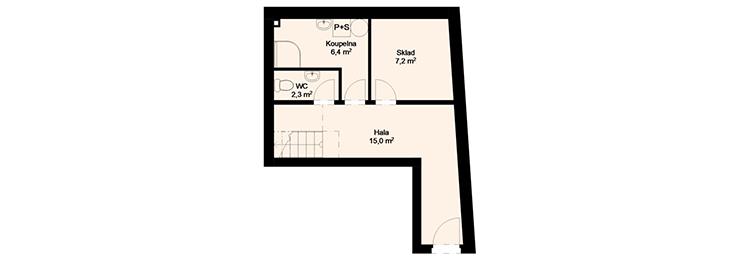 Rezidence Sumec - 1.NP : Rezidence Rybáře, Hodonín