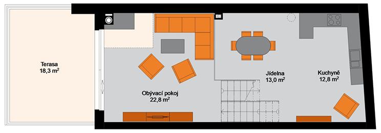 Rezidence Sumec - 2.NP : Rezidence Rybáře, Hodonín