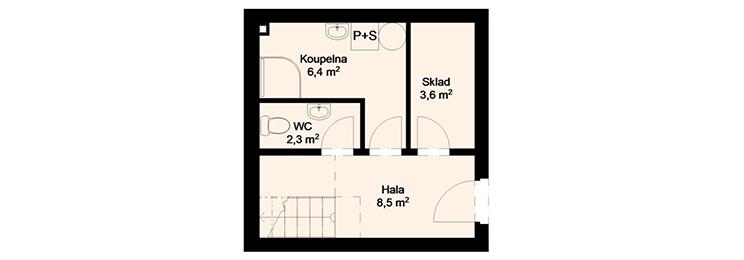 Rezidence Amur - 1.NP : Rezidence Rybáře, Hodonín